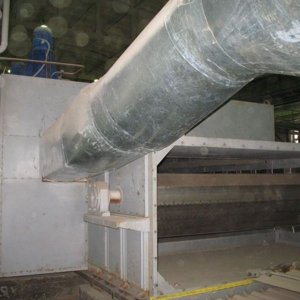 ленточная конвейерная сушилка для угля