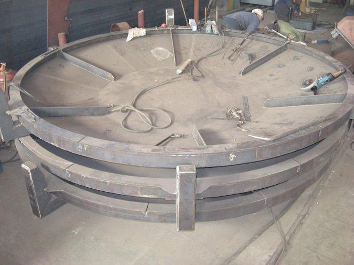 корпус крышки цеха завода