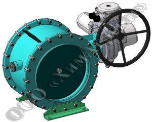 герметический вентиляционный клапан с электрическим управлением