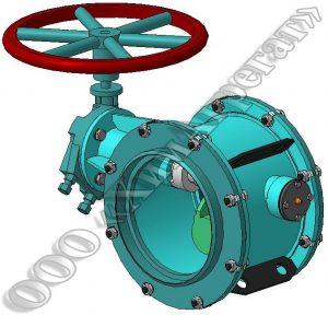 герметический клапан общепромышленного назначения