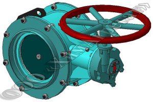 герметический вентиляционный клапан с ручным управлением