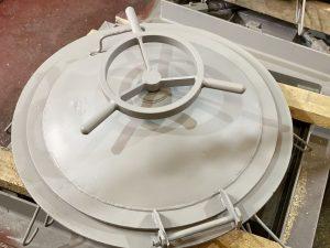 Изготовление герметического люка